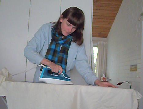kath ironing