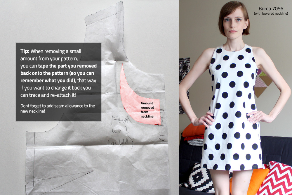 Pattern Alterations | bernie and i